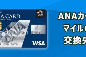 ANAカードで貯めたマイルのおすすめ交換先は?効率的な利用法を紹介!
