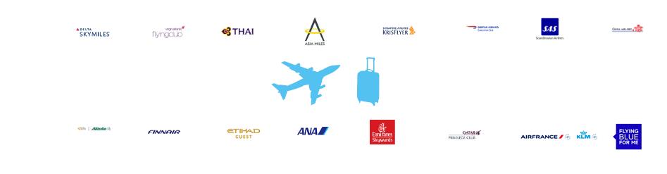 マイルに移行可能な提携航空パートナー