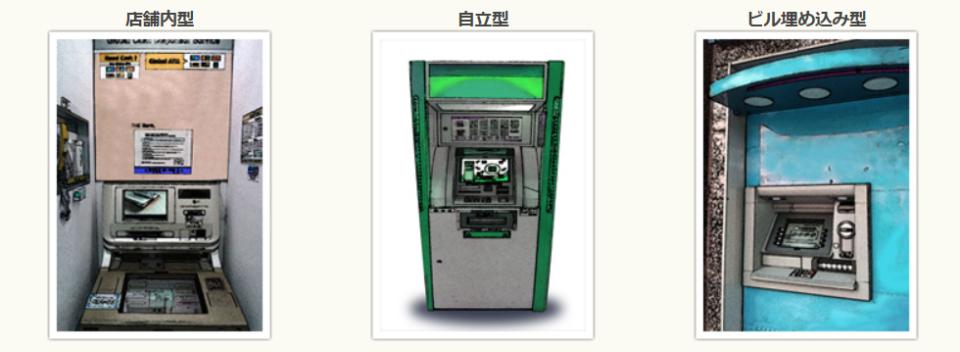 手口として一番多いのが、ATM
